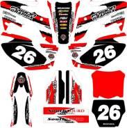 Оракал Honda CRF250R 06-09 FX красный/черный/белый Fushion Graphix