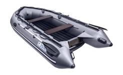 Надувная лодка ПВХ, Apache 3500 НДНД, графит