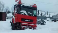 Продам птс с рамой Камаз 5490-S5 4x2 2016гв тягач красный