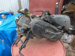 Двигатель А196 б. у. Япония без пробега по РФ на мопед Lets 2