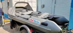 Надувная ПВХ лодка ProfMarine РМ-340 с мотором Yamaha 20л. с.