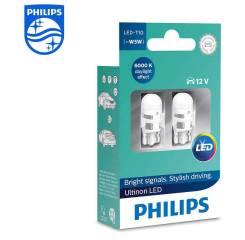 Philips лампы в габариты T10 W5W Vision LED 6000K (2 шт. )