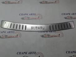 Накладка на задний бампер Subaru Forester 07-13
