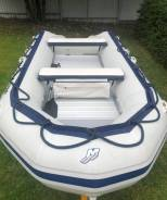 Лодка пвх QuickSilver 4.2м c мотором Mercury 30