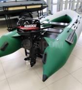 Лодочный мотор Hangkai 6 и лодка пвх Тритон 335