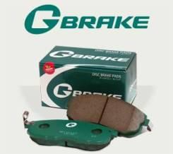 Колодки тормозные G-brake на Nissan. Замена. Гарантия