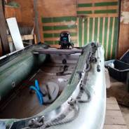 Продам комплект лодка + мотор.