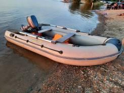 Продам лодочный мотор Yamaha 5л. с., лодку ПВХ Адмирал-340