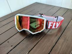 Очки Fly Racing Zone white/red
