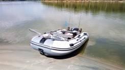 Продам лодку Compas 380S (нднд) и лодочный мотор Yamaha 15 FMHS .
