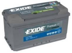 Стартерная аккумуляторная батар стартерная аккумуляторная Exide EA1000 Bmw: 61218385398 61218386952 61216946334. Citroen / Peugeot: 5600QC 5600TS