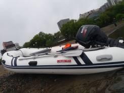 Полный лодочный комплект для отдыхаи рыбалки, Suzumar390 и Suzuki DF25A