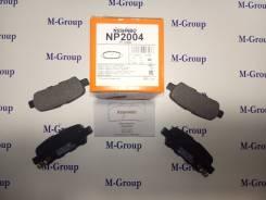 Колодки тормозные задние Nisshinbo NP2004 PF-2466 Оригинал Япония
