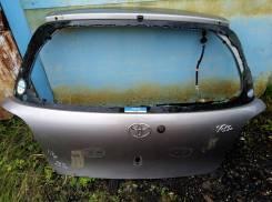Дверь багажника Toyota Vitz NCP15 отправка в регионы