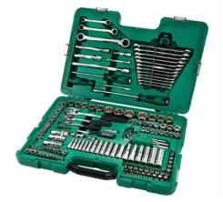 Набор инструментов Sata 150 предметов. 09510 New. оригинал.