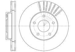 Тормозной диск передний G-Brake GR-20078