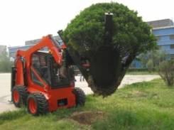 Пересадчик деревьев для мини-погрузчиков