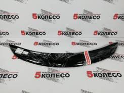 Дефлектор капота Subaru Trezia 10-14г (Classic черный) качество