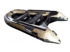 Надувная лодка ПВХ Marlin камуфляж камыш