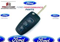 Ключ зажигания (корпус) Ford 3-х кнопочный