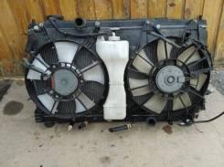 Диффузор (вентилятор) радиатора Honda Fit GE6 L13A левый