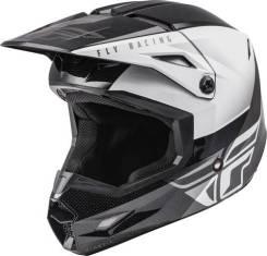 Шлем кроссовый Fly Racing Kinetic Straight EDGE