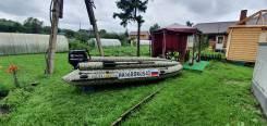Продам лодку солар 470 стрела с мотором тохатсу 50 на учете