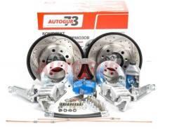 Дисковые тормоза с перфорированными дисками УАЗ 3163 Патриот с 2013 г. (с электронной РК) задний мост Autogur73 [Ndtuazspzpd]