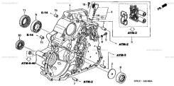 Корпус акпп Honda stream rn 1