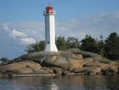 Морская прогулка экскурсия на остров Маячный , маяк Поворотный