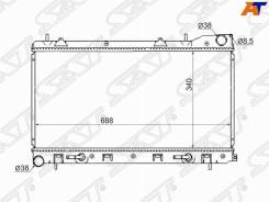 Радиатор Subaru Forester / Impreza 97-02 турбо