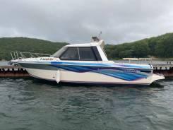 Быстрый, мореходный катер Nissan