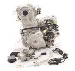 Двигатель 450см3 194MQ NC450 (94,5x64) Zongshen 4 клапана/водянка, пол