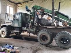 КРАЗ 32556 лесовоз с фискарем