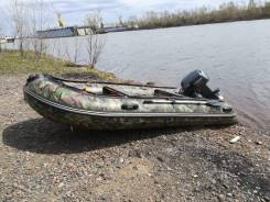 Лодка HDX 390 +Yamaha 25