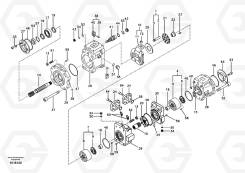 Запчасти для гидронасоса K5V200DTH VOE14526609 Volvo EC460B