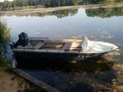 Продам комплект алюминиевая лодка, мотор, прицеп.