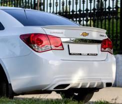 Лип спойлер на Chevrolet Cruze (Шевроле Круз) 2008-2015г