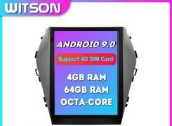 Магнитола Тесла Witson Hyundai IX45 2013-2017 4/64 9 Android