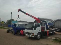 Услуги бортового грузовика с крановой установкой от 1500 за час