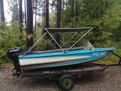 Моторная лодка Обь-1 без двигателя