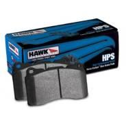 Колодки тормозные задние Hawk HPS HB452F.545