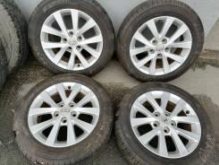 Оригинальные литые диски Тойота Королла R16, 5/114