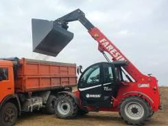 Новый ковш для зерна на Manitou