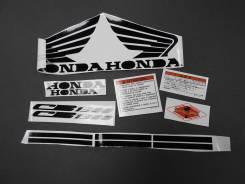 Наклейки Honda CB1300 черные