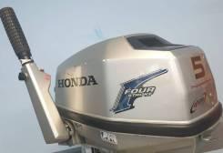 4х тактый лодочный мотор Honda 5 Б/У