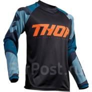 Джерси для мотокросса Thor S9 Sector XXXL Темно-синий