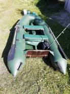 Продам лодку ПВХ с жёстким дном hunter 290lk