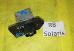 Реостат печки Hyundai Solaris RB