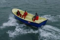Лодка морская стеклопластиковая РШПМ